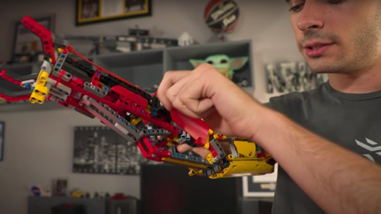 YouTuber builds prosthetic arms out of LEGO bricks