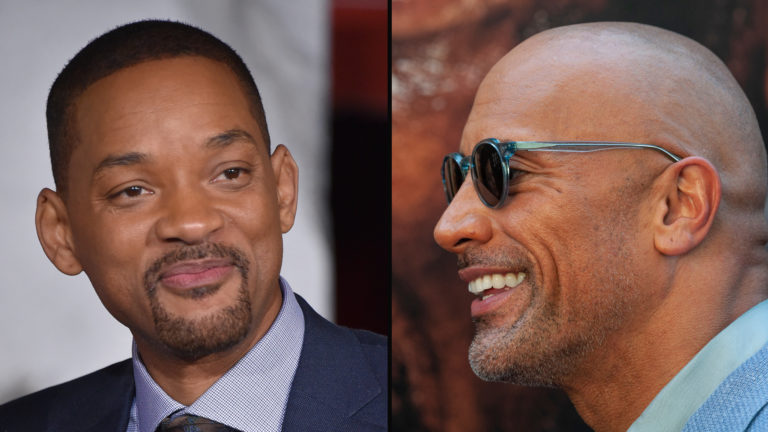 Will Smith The Rock