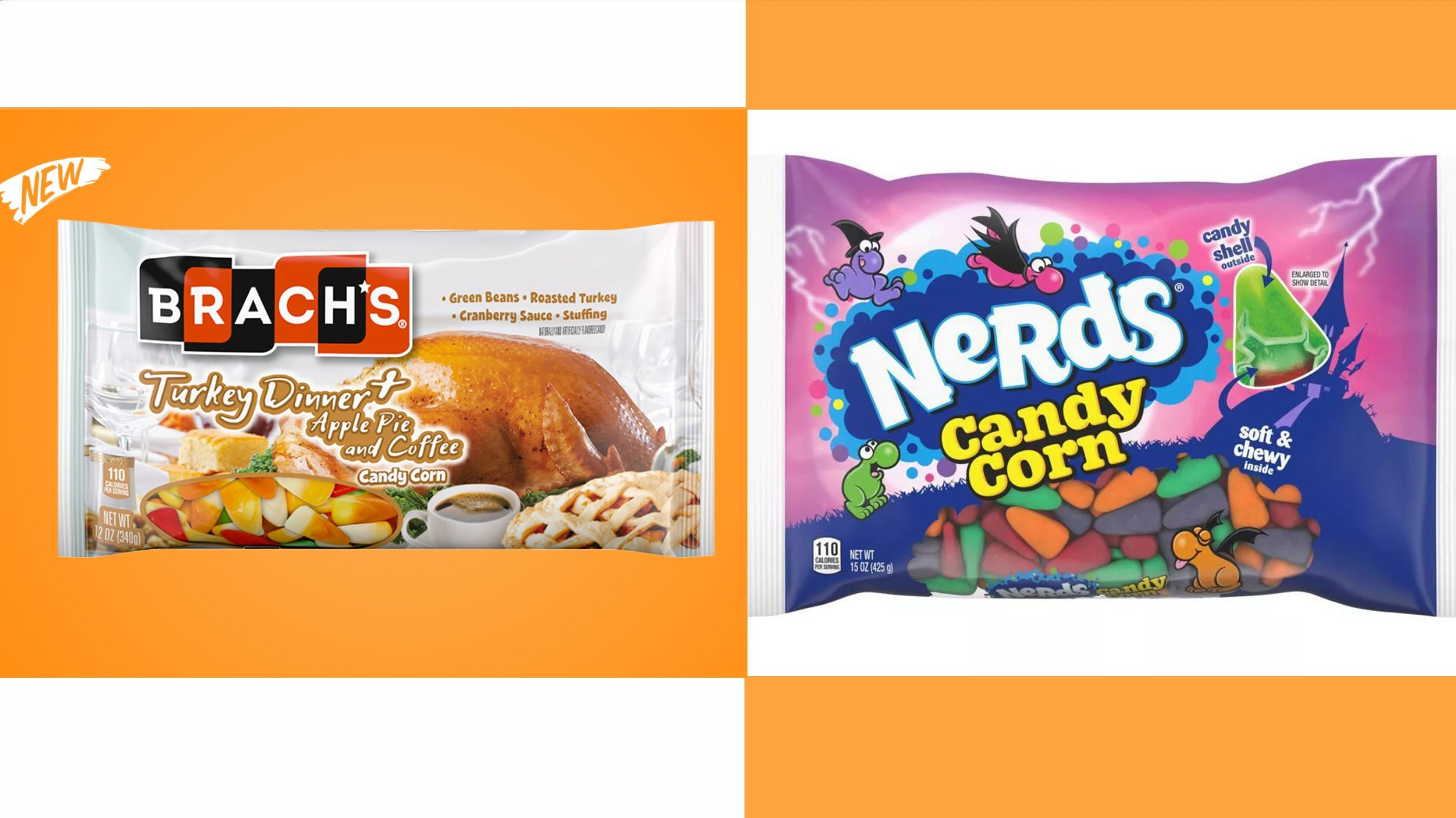 Companies Continue Creating Strange New Varieties of Candy Corn, for Some Reason