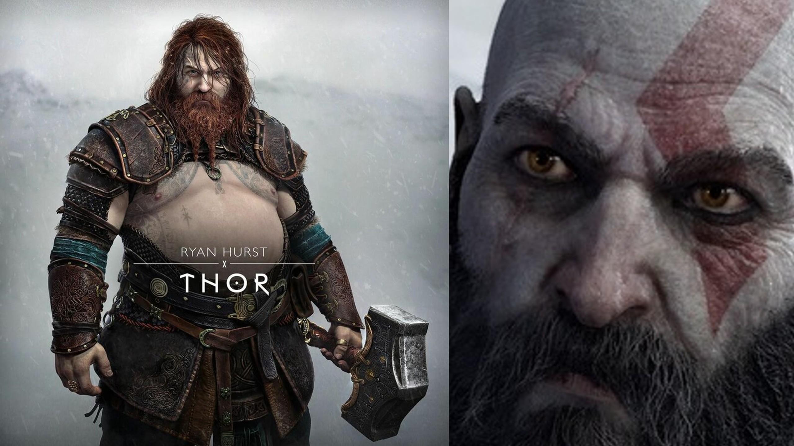 God of War: Ragnarok Thor