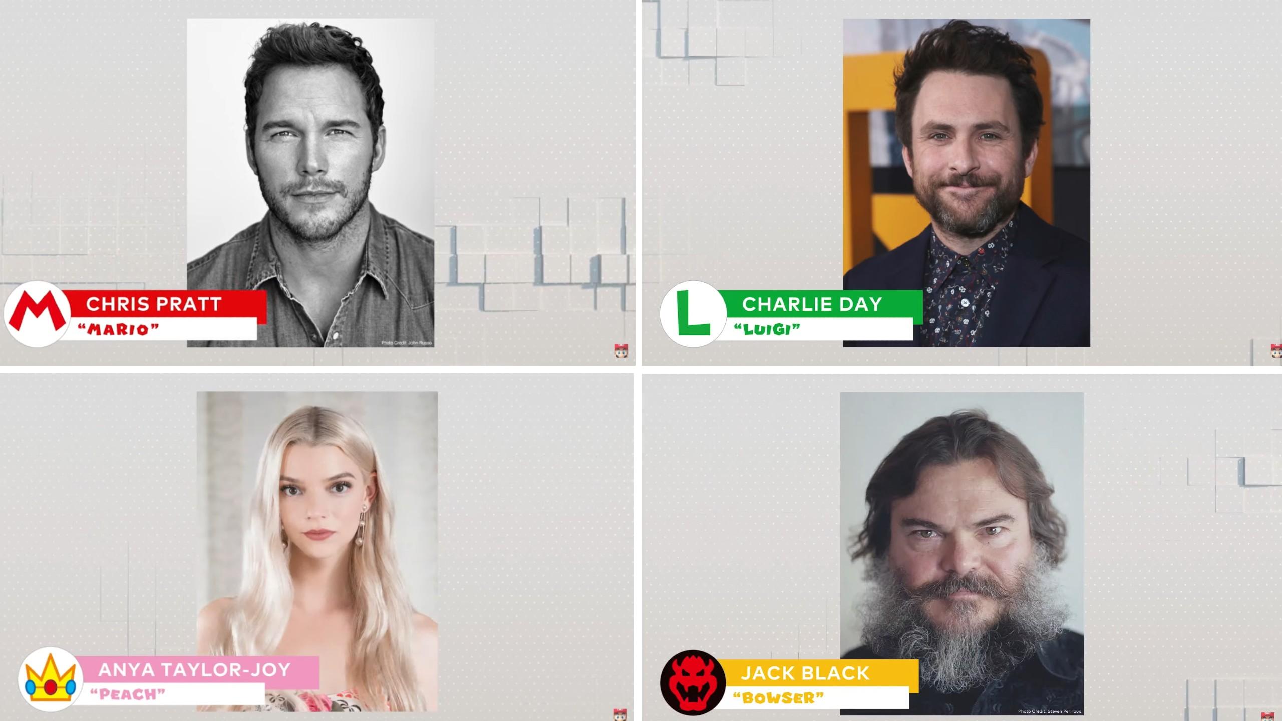 Super Mario Animated Film Cast