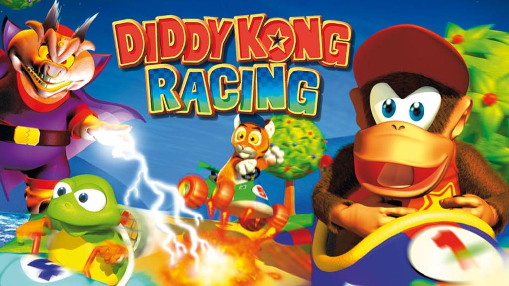 Diddy Kong Racing N64 Nintendo Switch Online