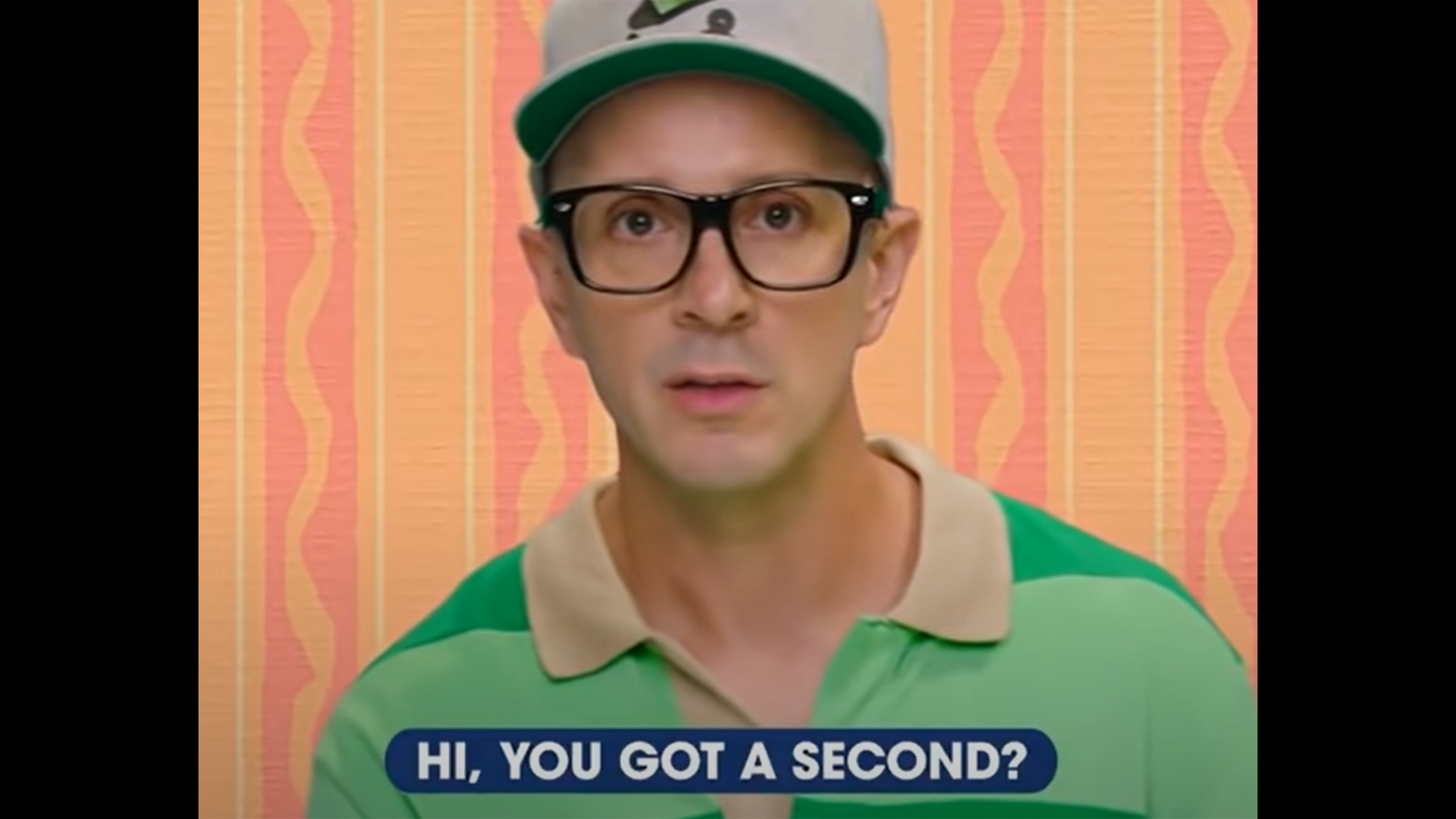Let's talk about Steve From Blue's Clues