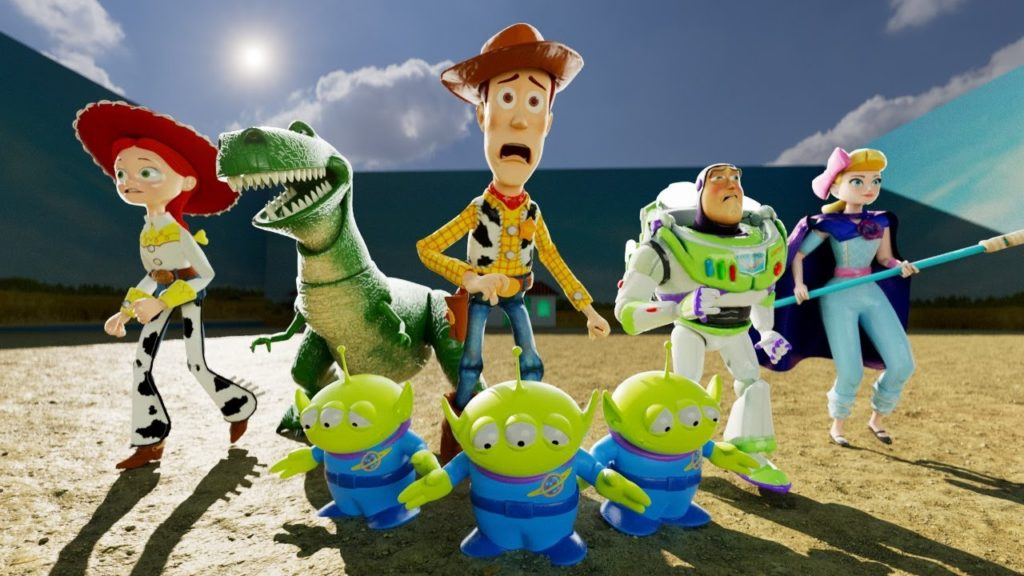 Toy Story Characters in Squid Game
