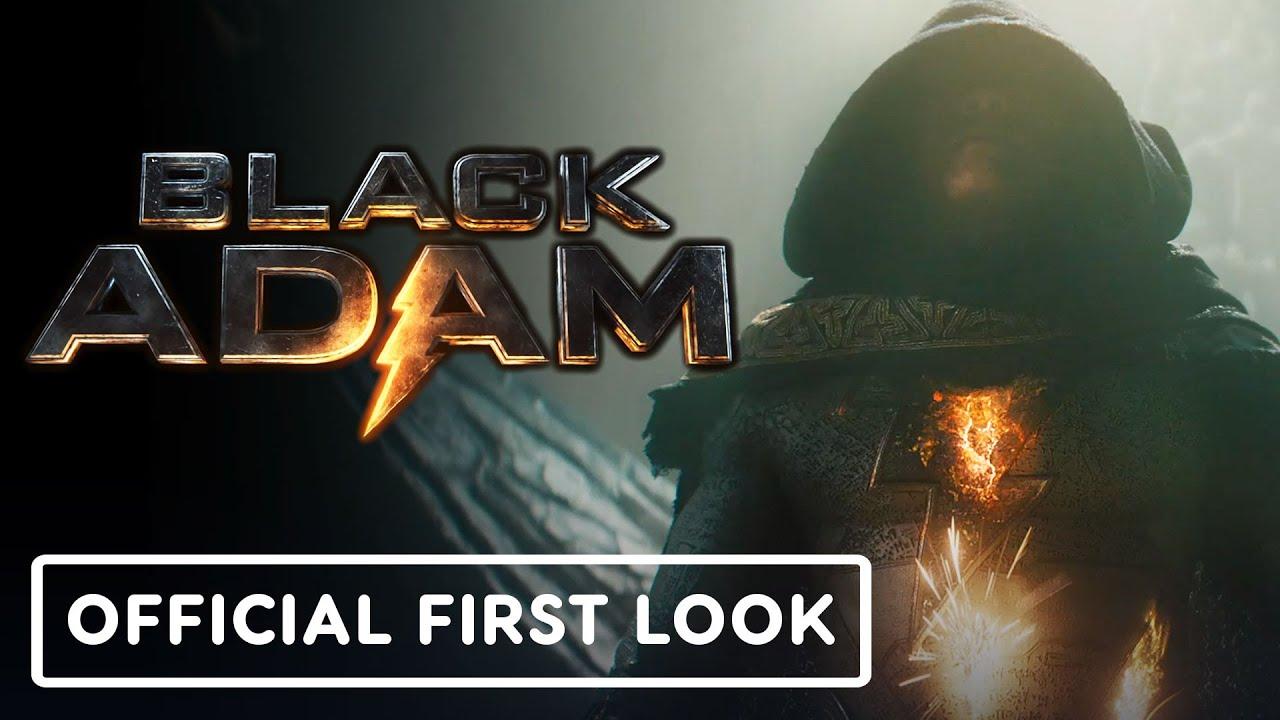 Black Adam teaser