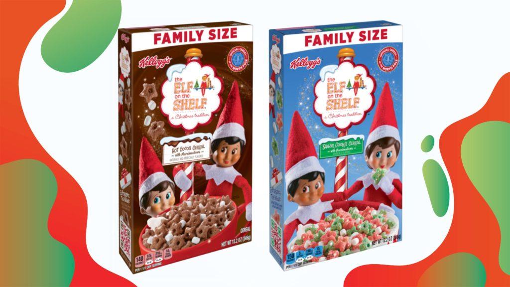 Kellogg's Elf on the Shelf cereal at Walmart