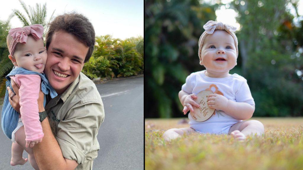 Bindi Irwin celebrates 6-month-old daughter Grace