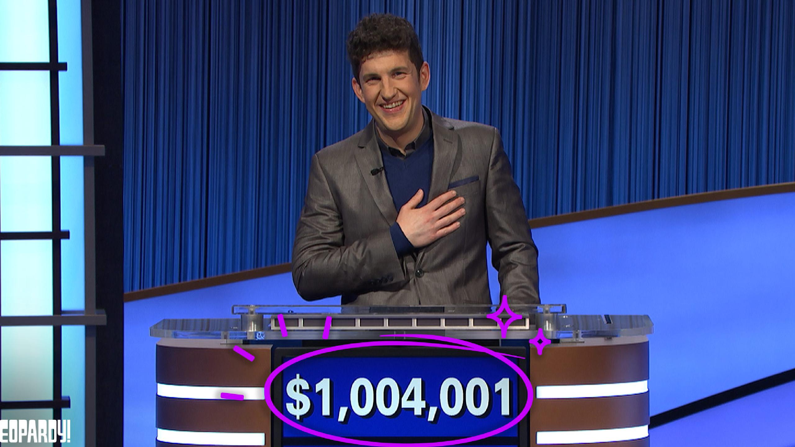 Jeopardy New Star Matt Amodio