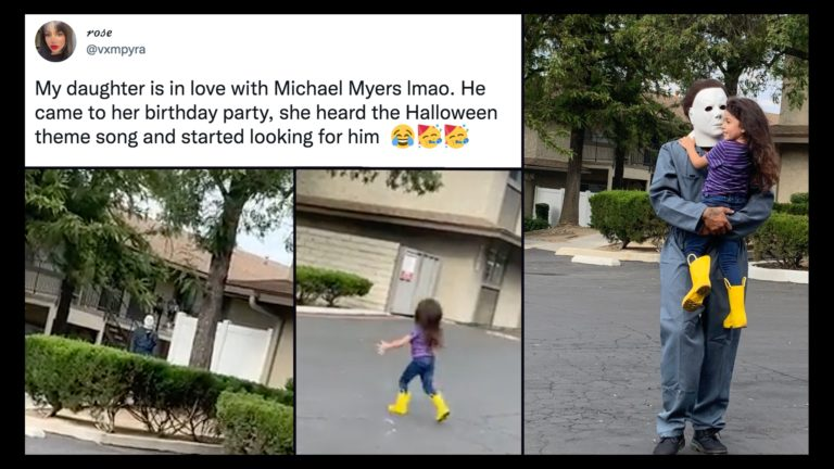 4-Year-old Loves Michael Myers