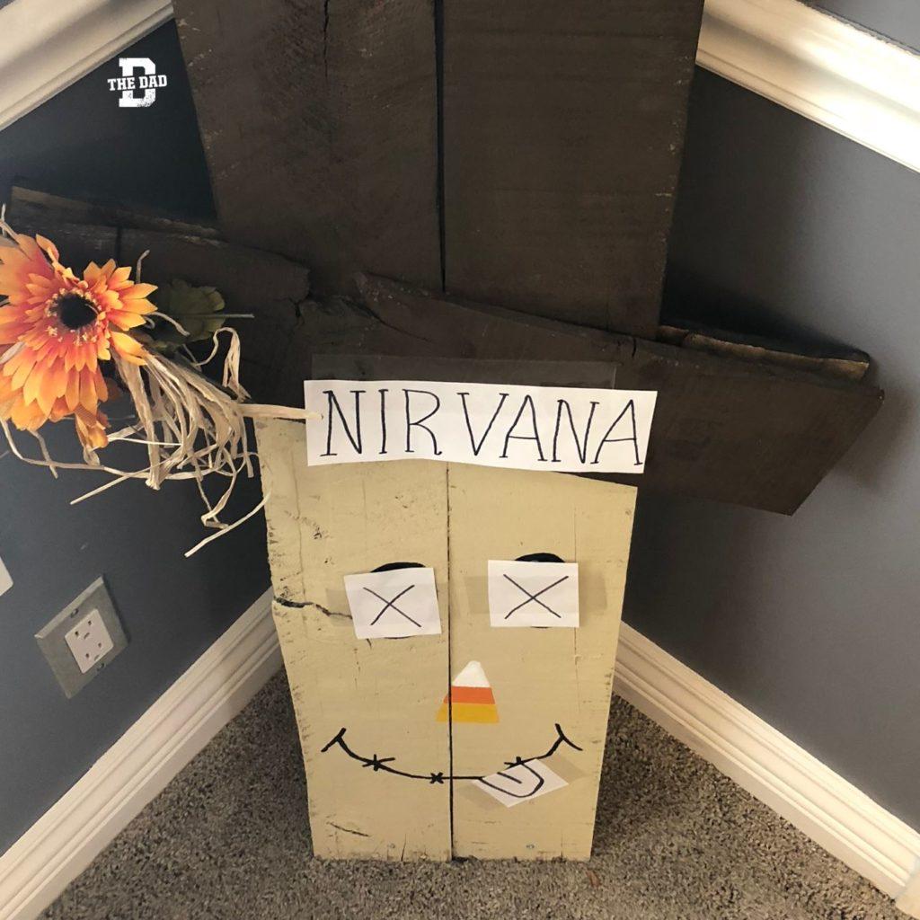 Nirvana. Decoration, art, candy corn