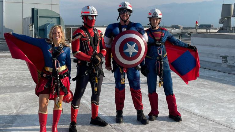 Superhero Firefighters