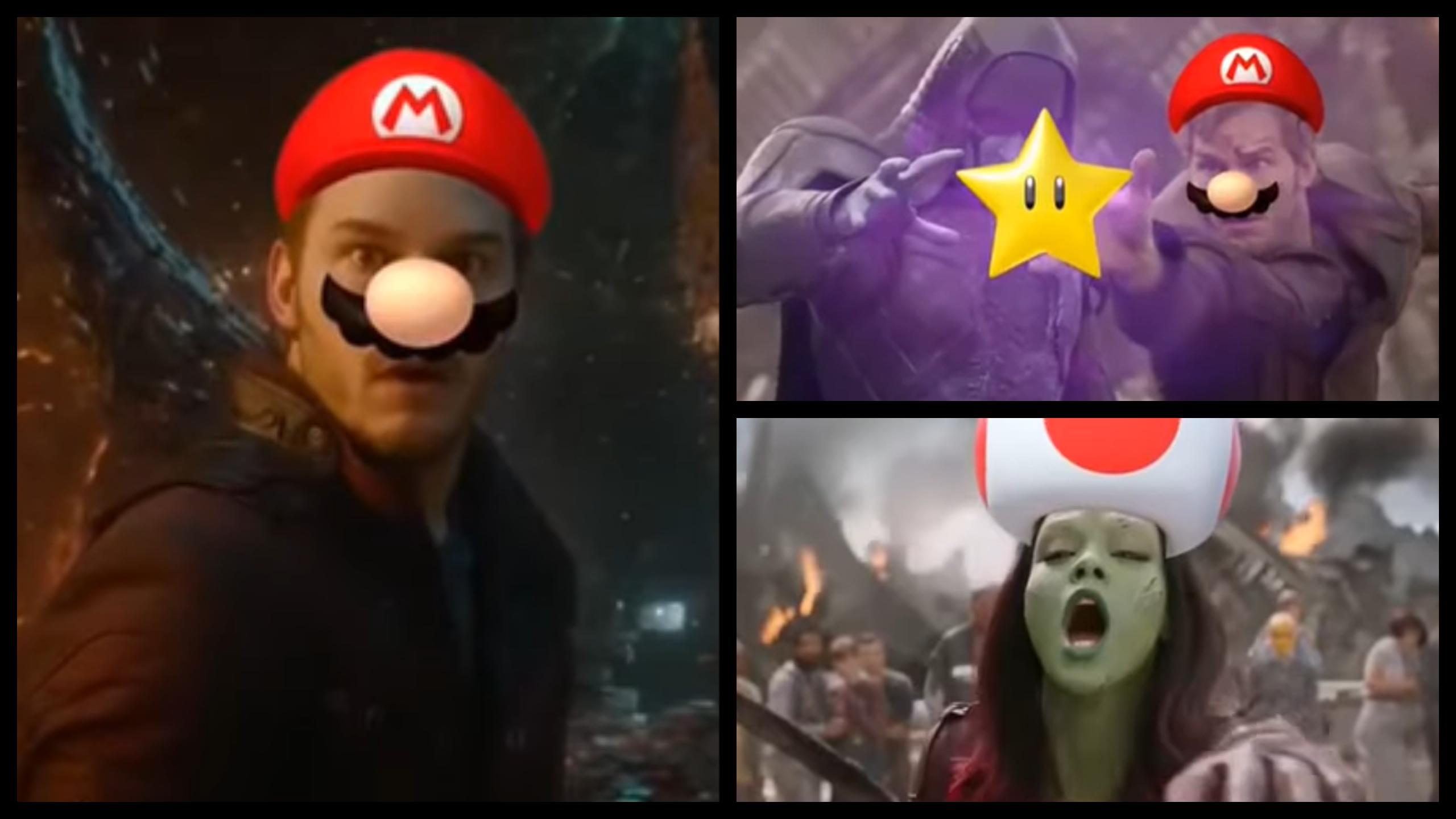 Chris Pratt Mario Movie