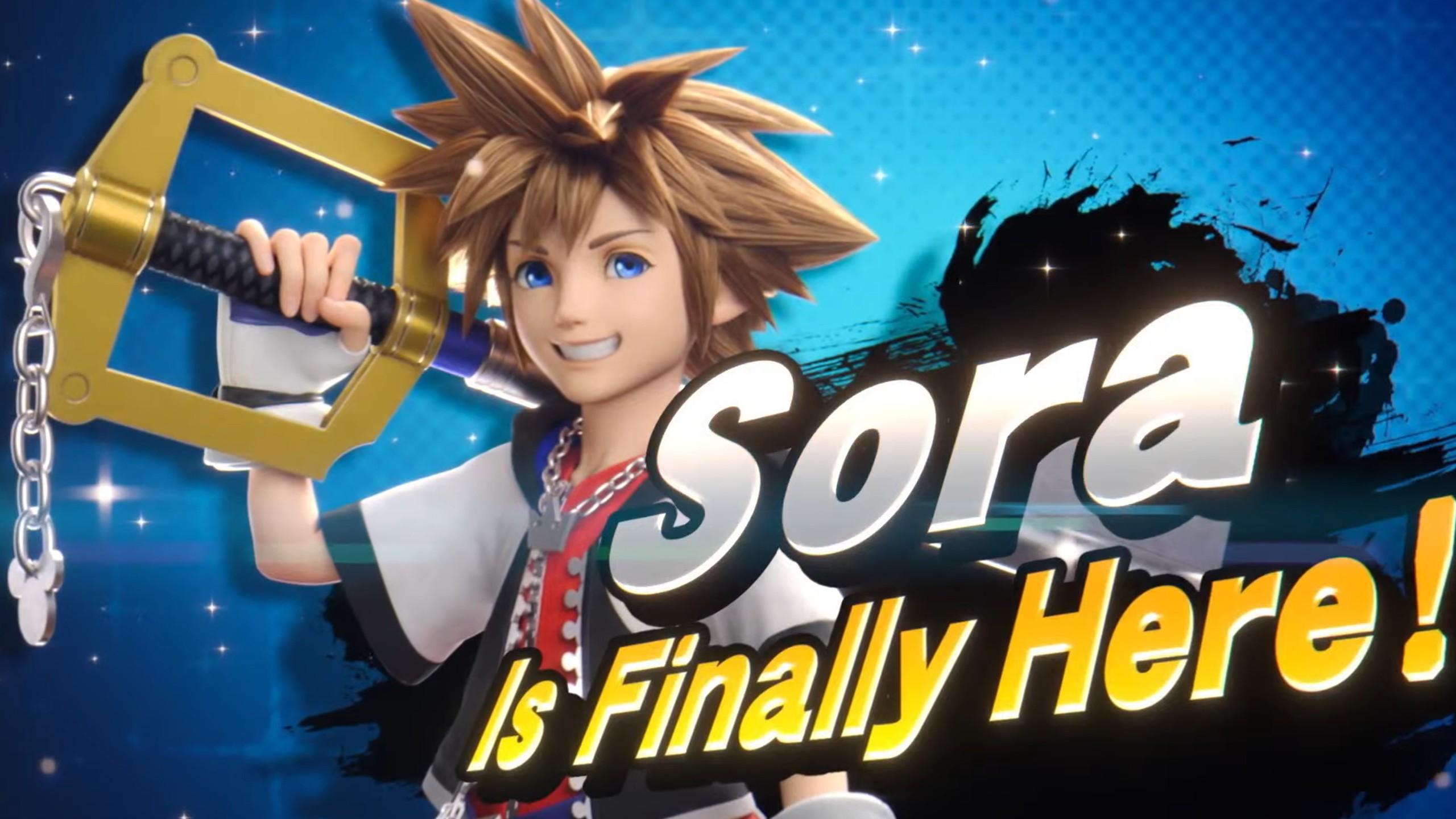 Sora Super Smash. Bros Ultimate